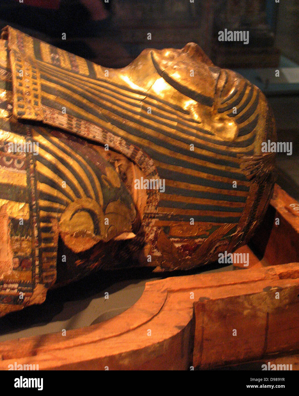 The coffins made by the priest Hornedjitef. - Stock Image