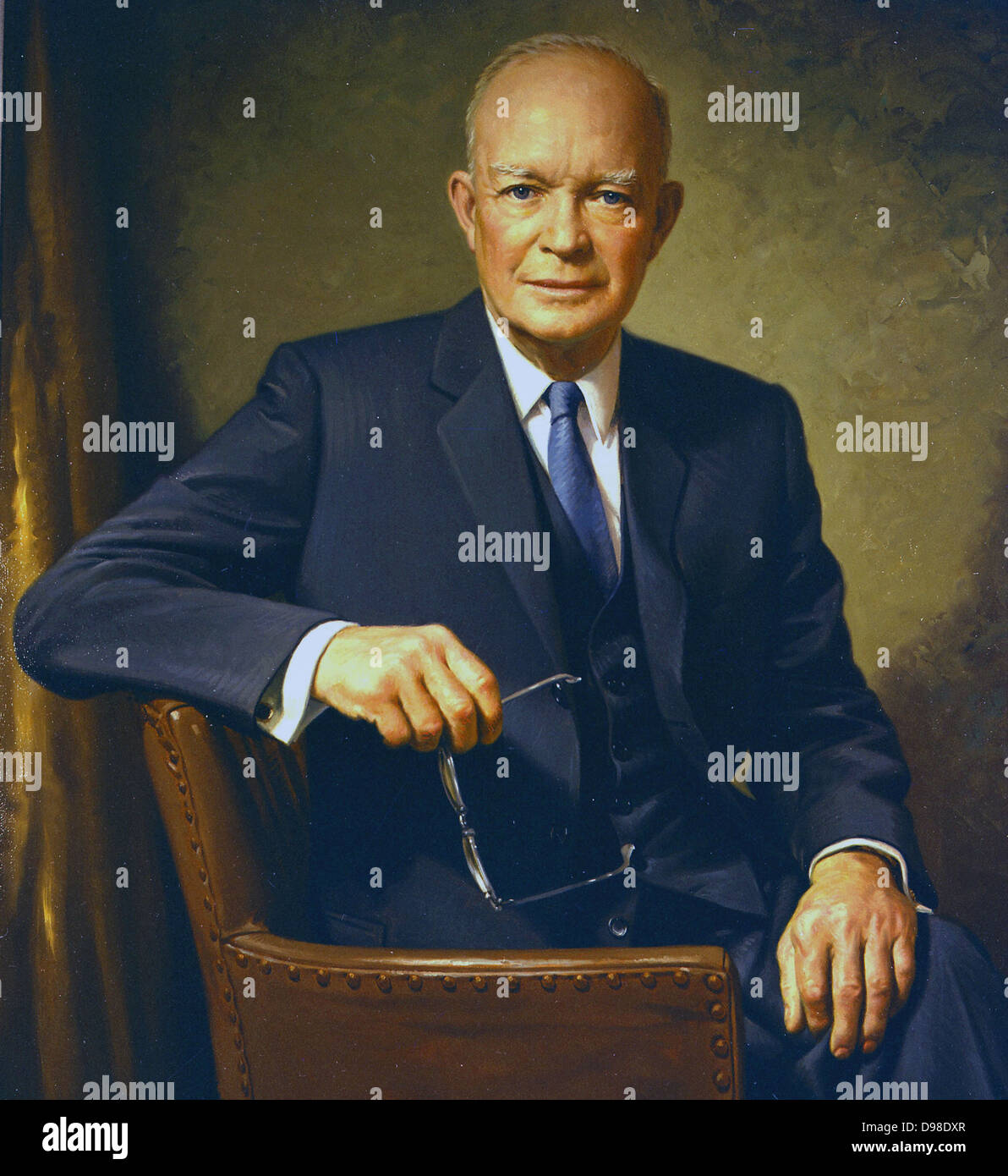 Dwight David Ike Eisenhower 1890 1969 American Soldier And 34th President