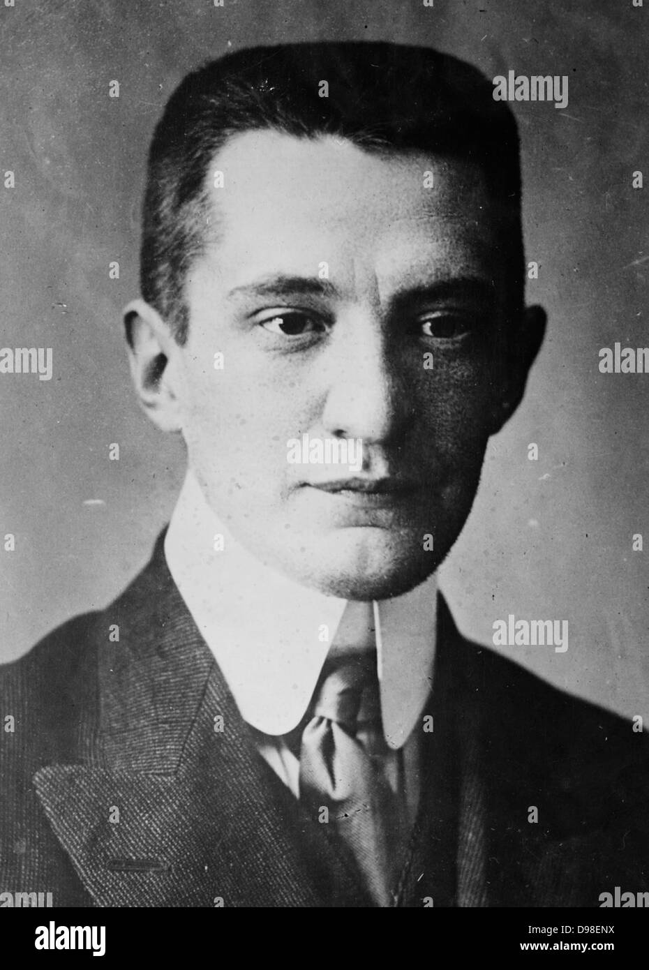Alexander Kerensky (1881 – 1970)Russian politician. Prime Minister of the Russian Provisional Government until the - Stock Image