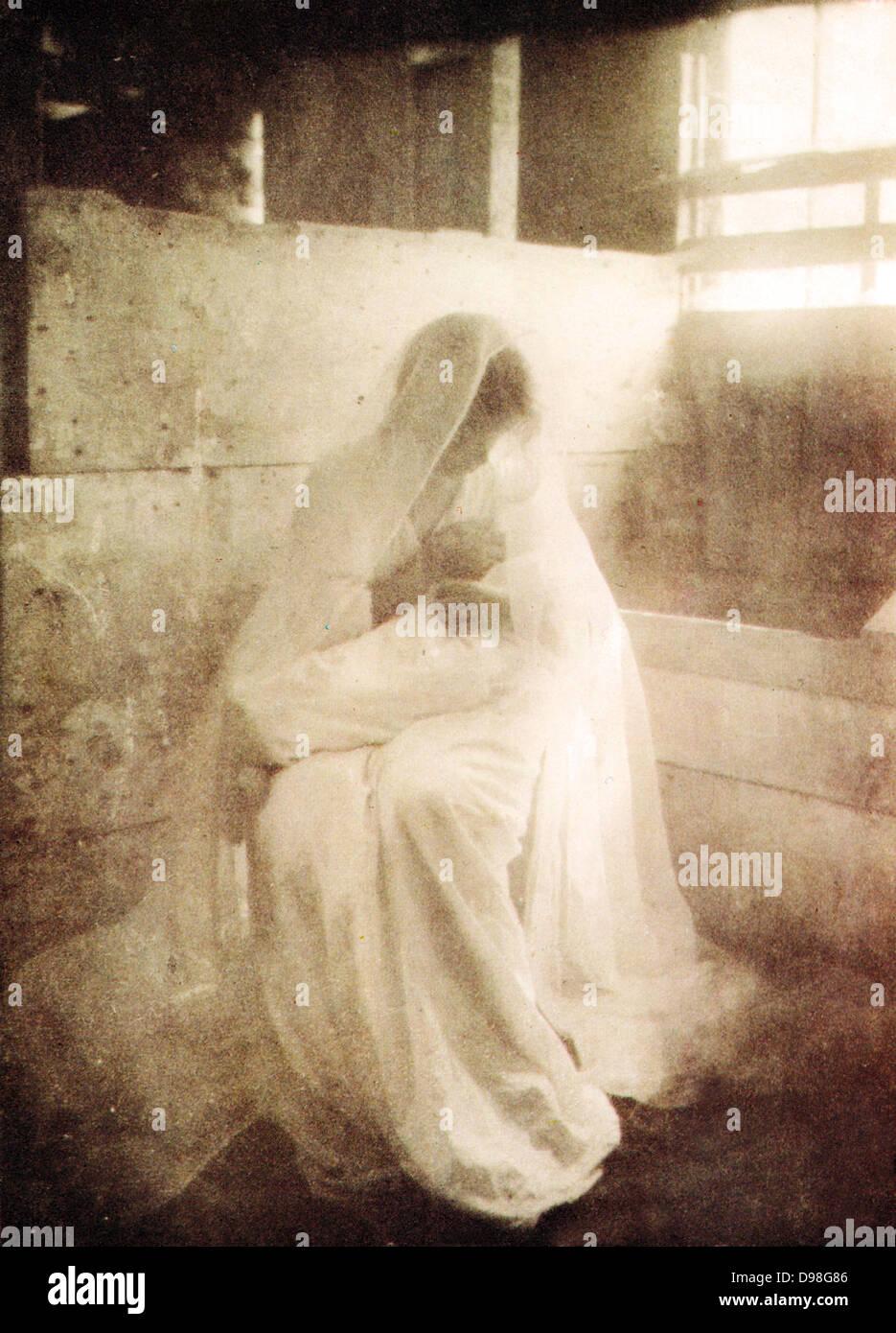 Gertrude Kasebier-Manger 1909 - Stock Image