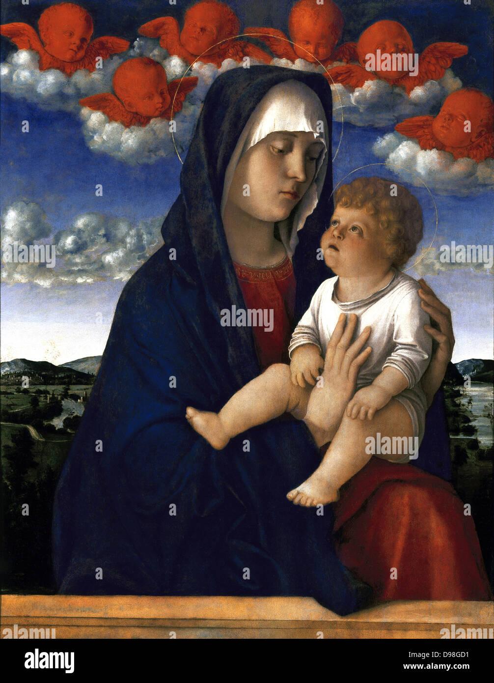 Giovanni Bellini, Venezia 1430, circa – 1516) - Stock Image