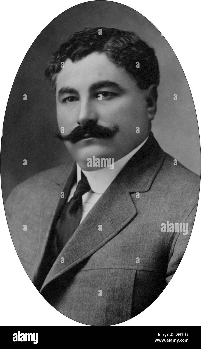 Eulalio Gutiérrez Ortiz (February 2, 1881 – August 12, 1939) was elected provisional president of Mexico during - Stock Image