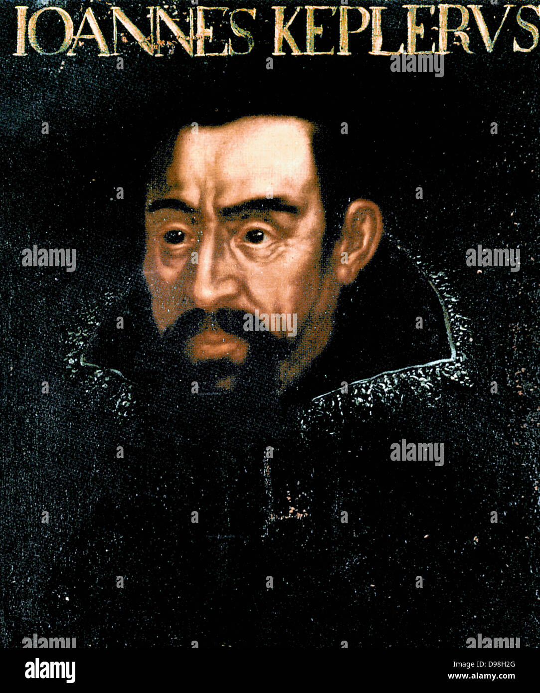 Johannes Kepler, 1571 – 1630, German mathematician , astronomer and astrologer - Stock Image