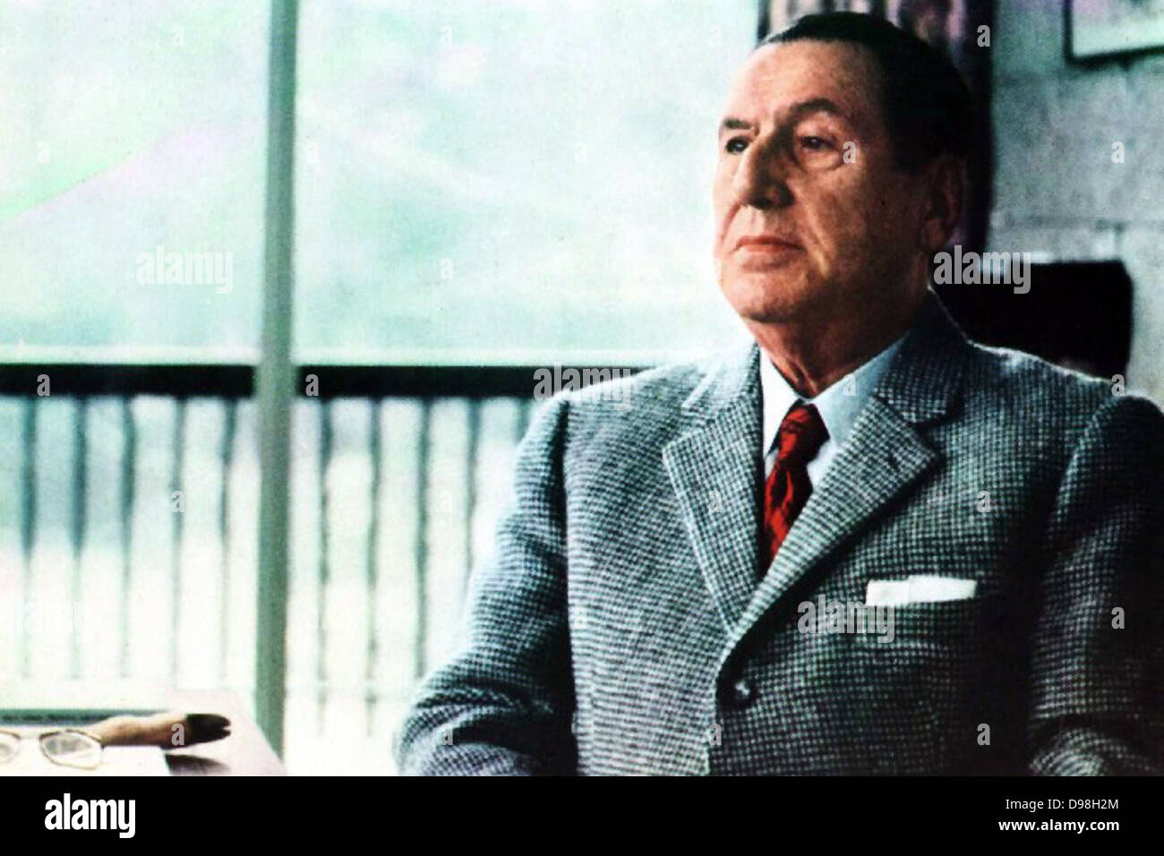 Juan Domingo Perón October 8, 1895 – July 1, 1974) was an Argentine military officer, and politician. Perón - Stock Image
