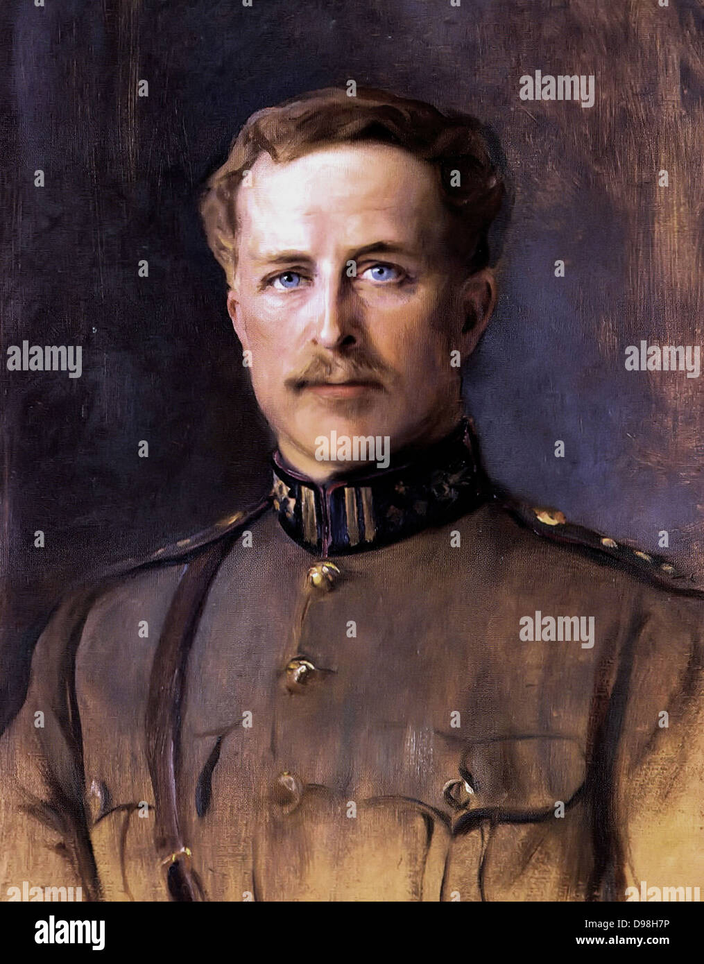 Albert I (8 April 1875 – 17 February 1934) reigned as King of the Belgians from 1909 until 1934. - Stock Image