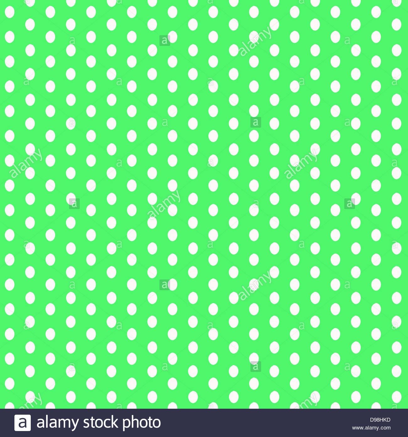 digital composite background white polka dots on a lime green stock