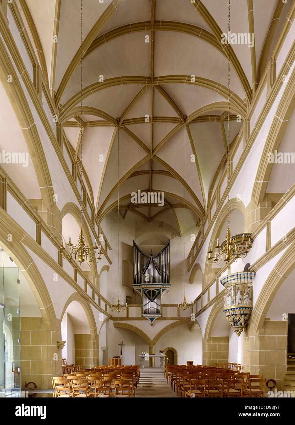 Chapel, Hartenfels Castle, Torgau, Saxony Germany Stock Photo