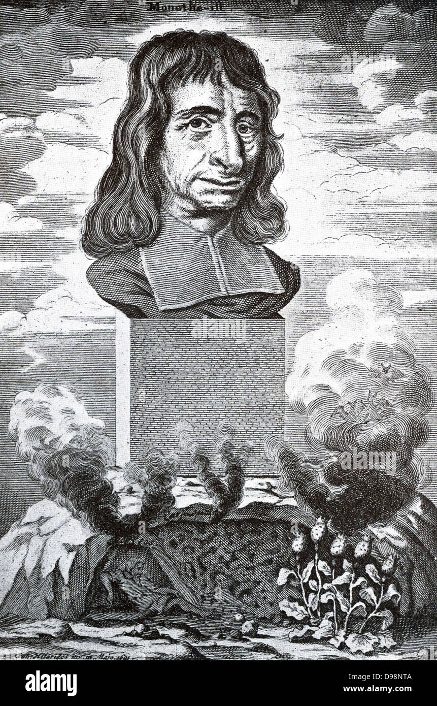 Balthasar Becker (1634-1698) Dutch divine and author of philosophical and  theological works