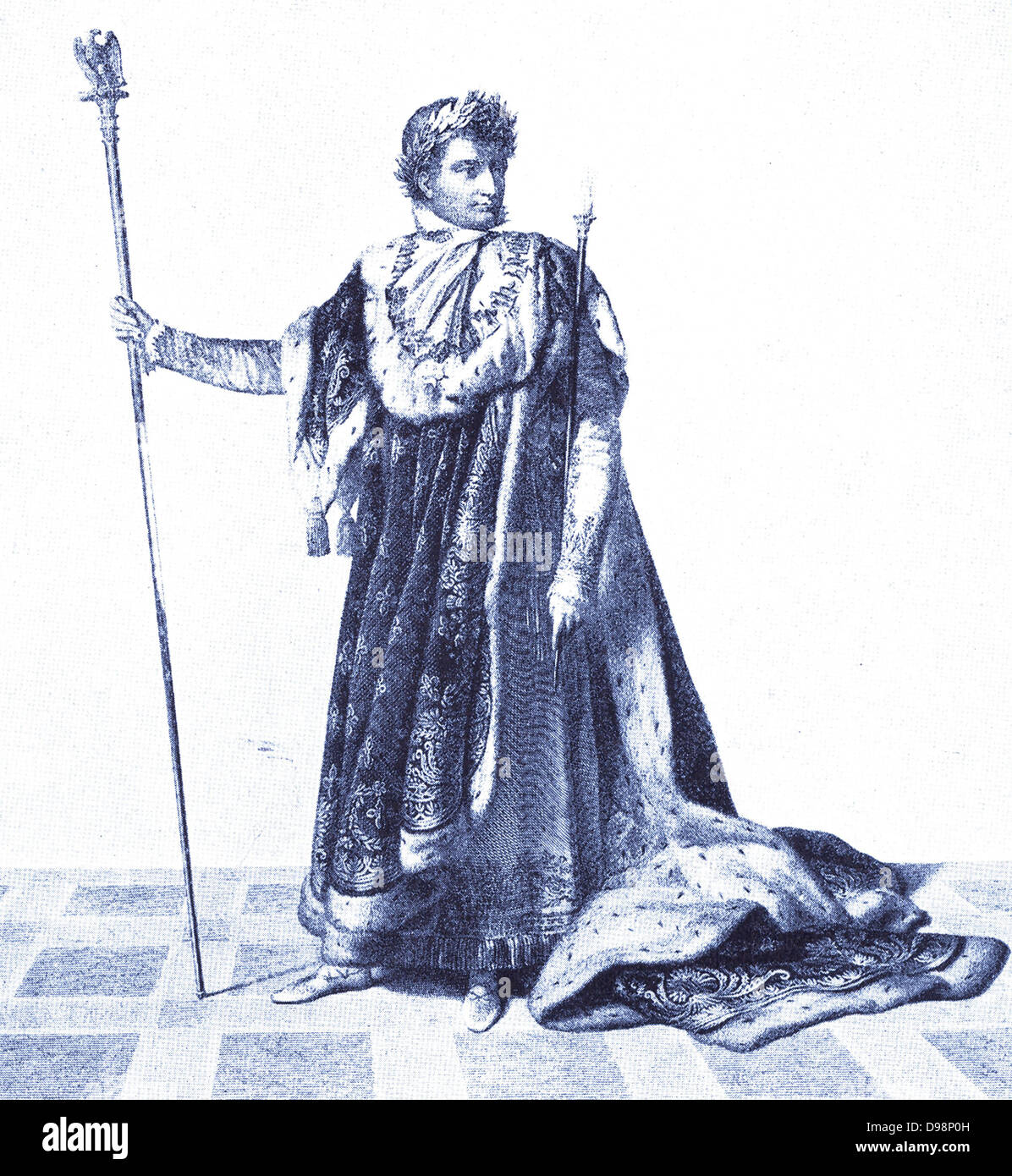 Napoleon Bonaparte (1760-1821) - Stock Image