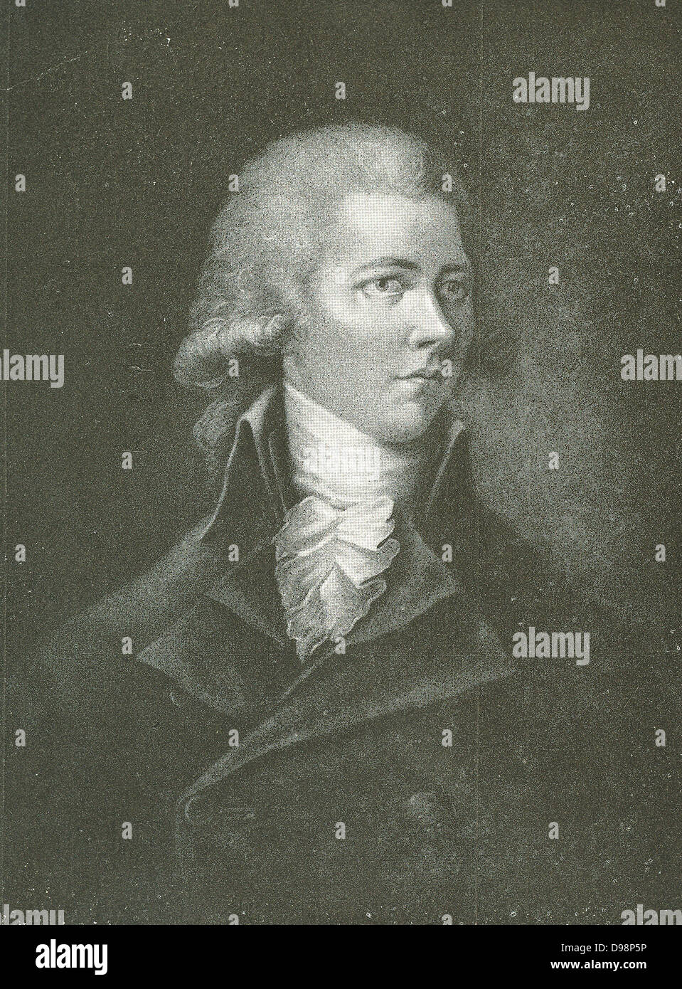 William Pitt the Younger (28 May 1759 – 23 January 1806) was a British politician of the late 18th and early 19th - Stock Image
