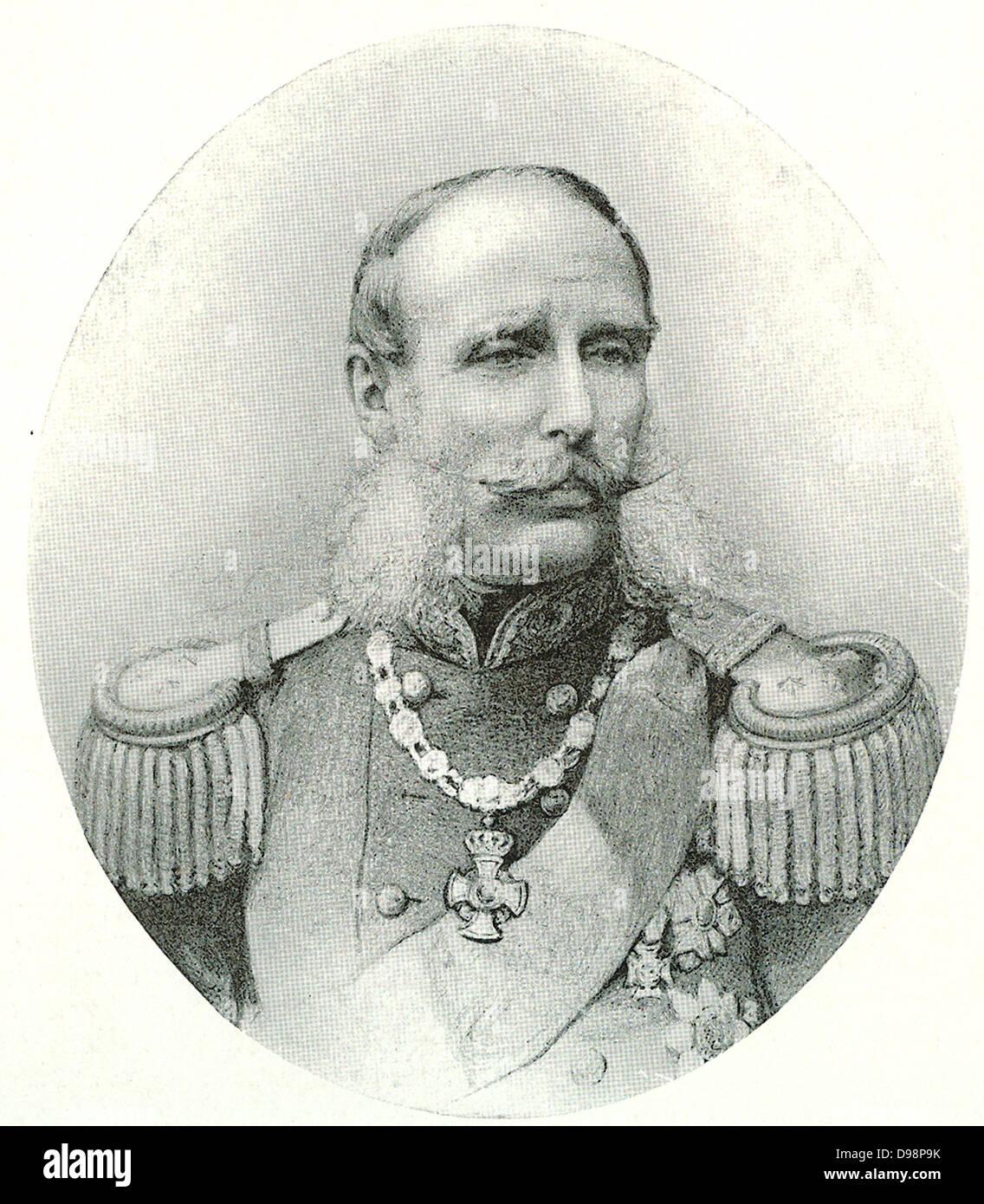 Prins Hendrik (1820-1879) - Stock Image