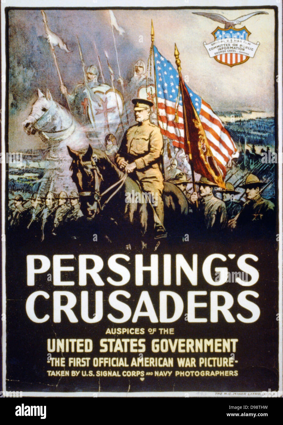 Official Military American War Picture by Navy USA Pershing/'s Crusaders Poster