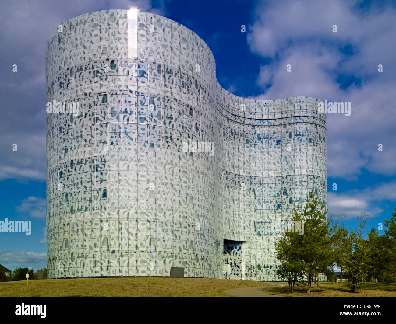 Information, Communication and Media Centre in Cottbus, Brandenburg, Germany - Stock Image