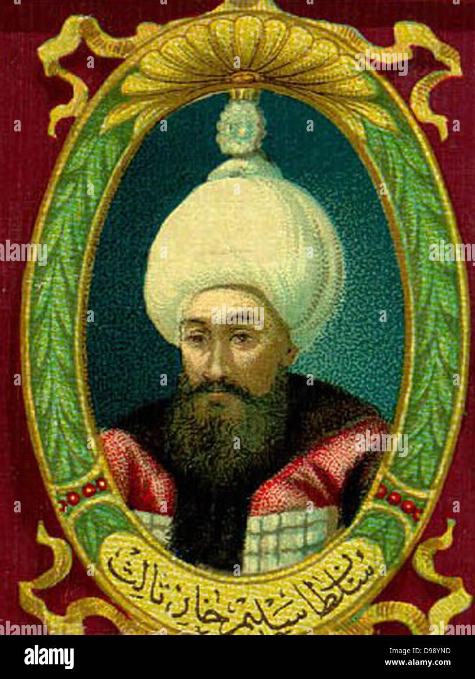 Selim III (1761 -1808) Sultan of the Ottoman Empire 1789–1807 - Stock Image