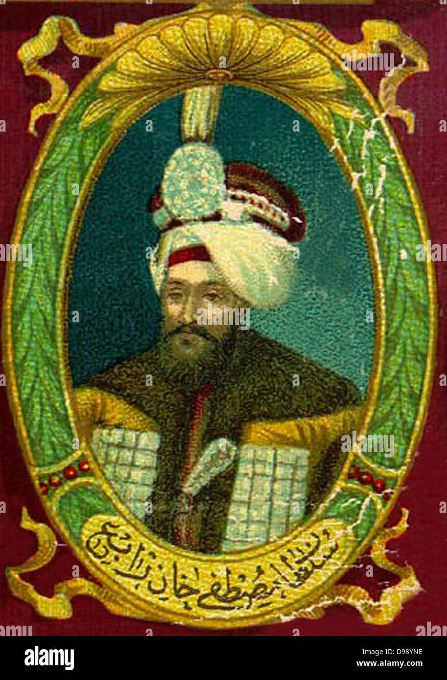 Mustafa IV (1779 -1808) Sultan of the Ottoman Empire 1807–38 - Stock Image