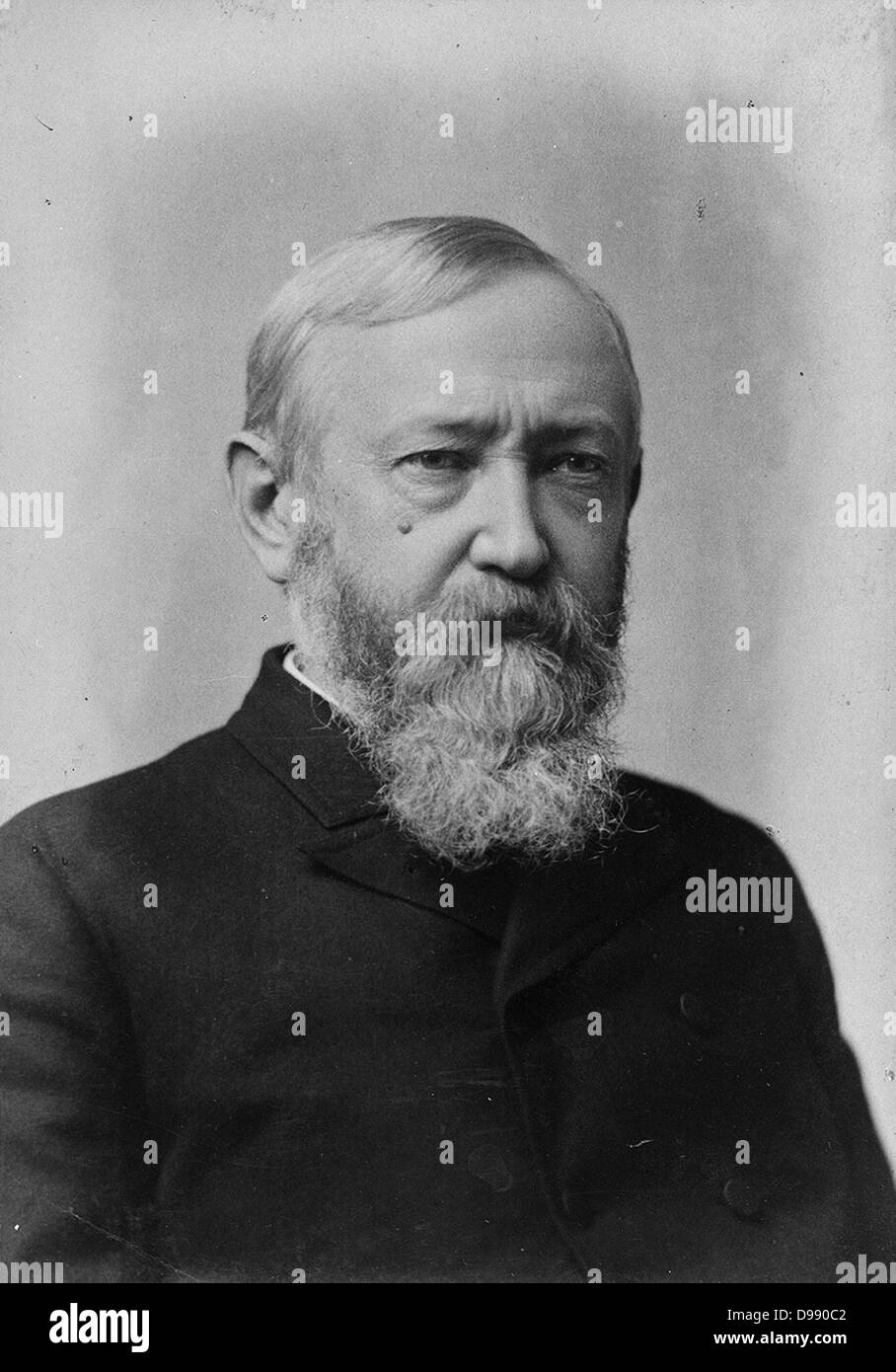 Benjamin Harrison (August 20, 1833 – March 13, 1901) was the 23rd President of the United States (1889–1893). Harrison, - Stock Image