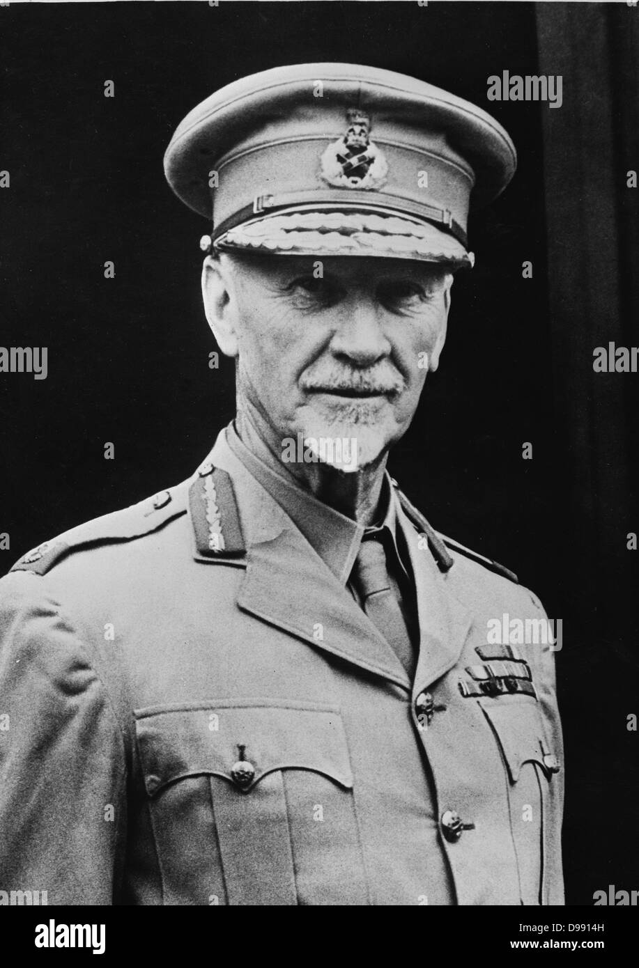 Jan Christiaan Smuts (1870–1950) South African and British Commonwealth statesman and military leader. Held various - Stock Image