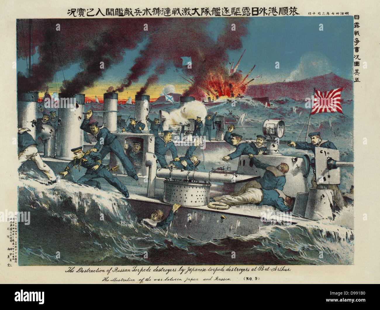 Battle Of Port Arthur Stock Photos & Battle Of Port Arthur