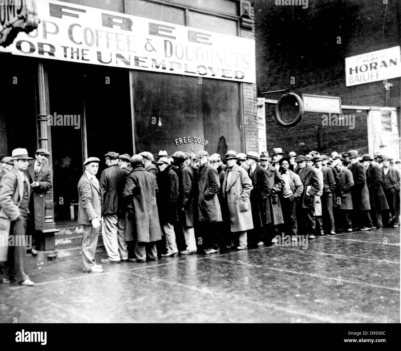 The Great Depression In New York Stock Photos & The Great ...