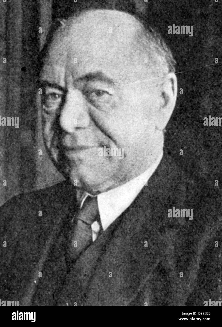 Max Aitken, lst Baron Beaverbrook (1879-1964) Canadian-born British press baron, business tycoon, and writer. Appointed - Stock Image