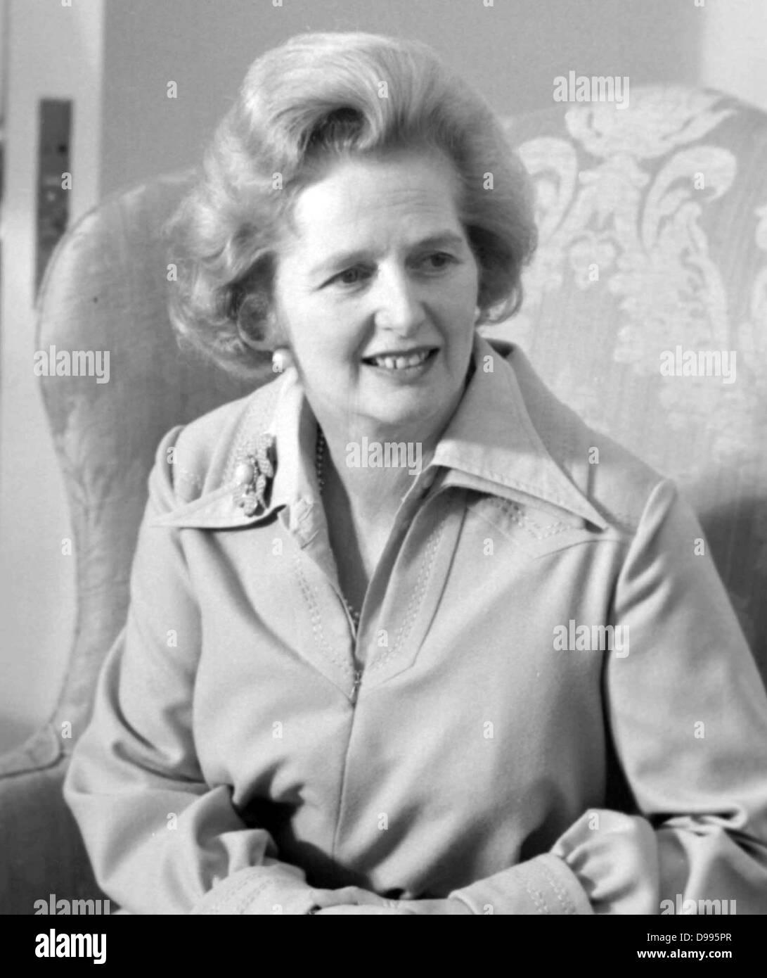 Margaret Thatcher, British Prime Minister 1979-1990 - Stock Image