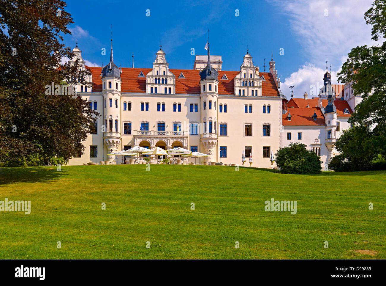 Boitzenburg Castle, Uckermark, Brandenburg, Germany - Stock Image
