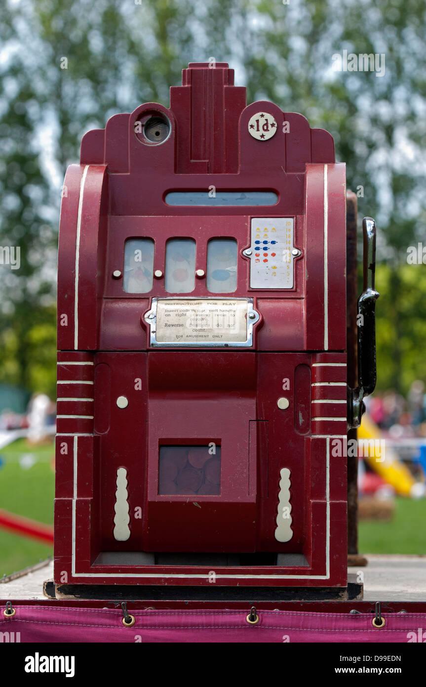 Penny arcade machine - Stock Image