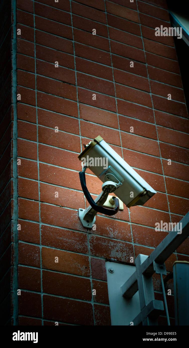 CCTV Camera Secure Monitor - Stock Image