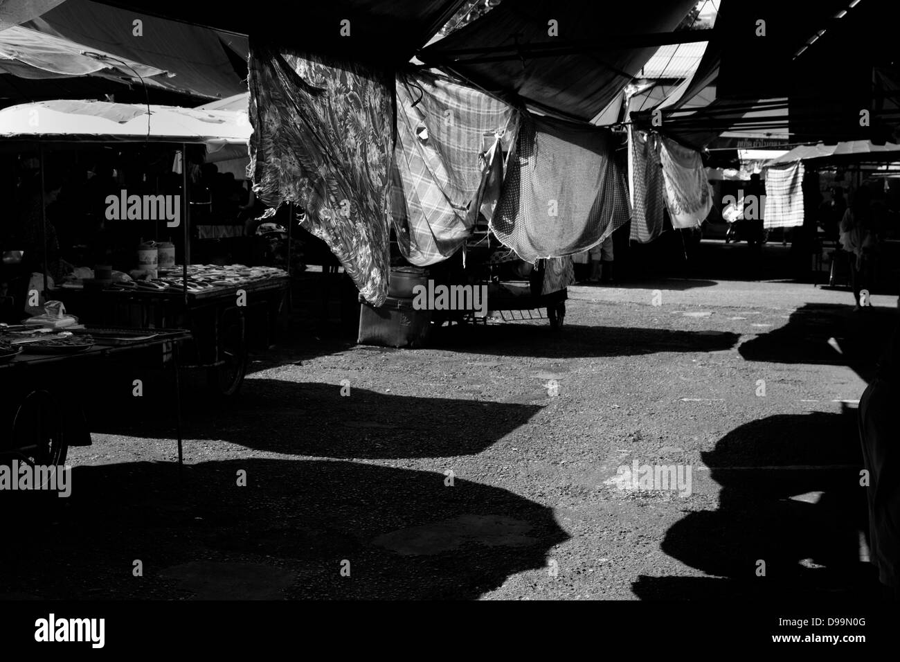 DOWNTOWN MARKET, PHUKET TOWN, PHUKET, THAILAND APRIL 19 2013 - Stock Image