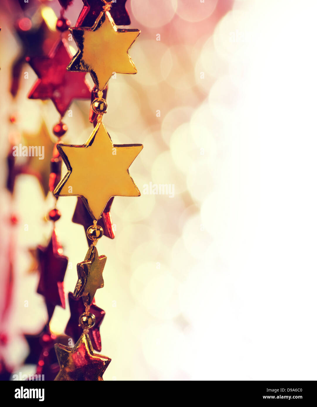 Holiday background with copy space Stock Photo
