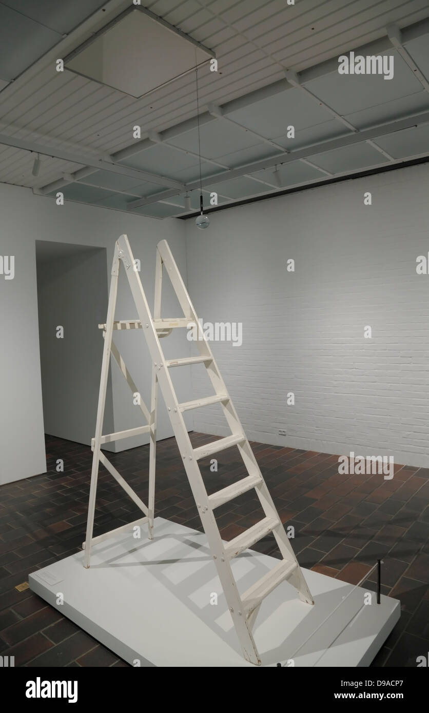 Yoko Ono's 'Yes Painting' exhibited at Louisiana Museum of Modern Art in Humlebæk, Denmark at her - Stock Image