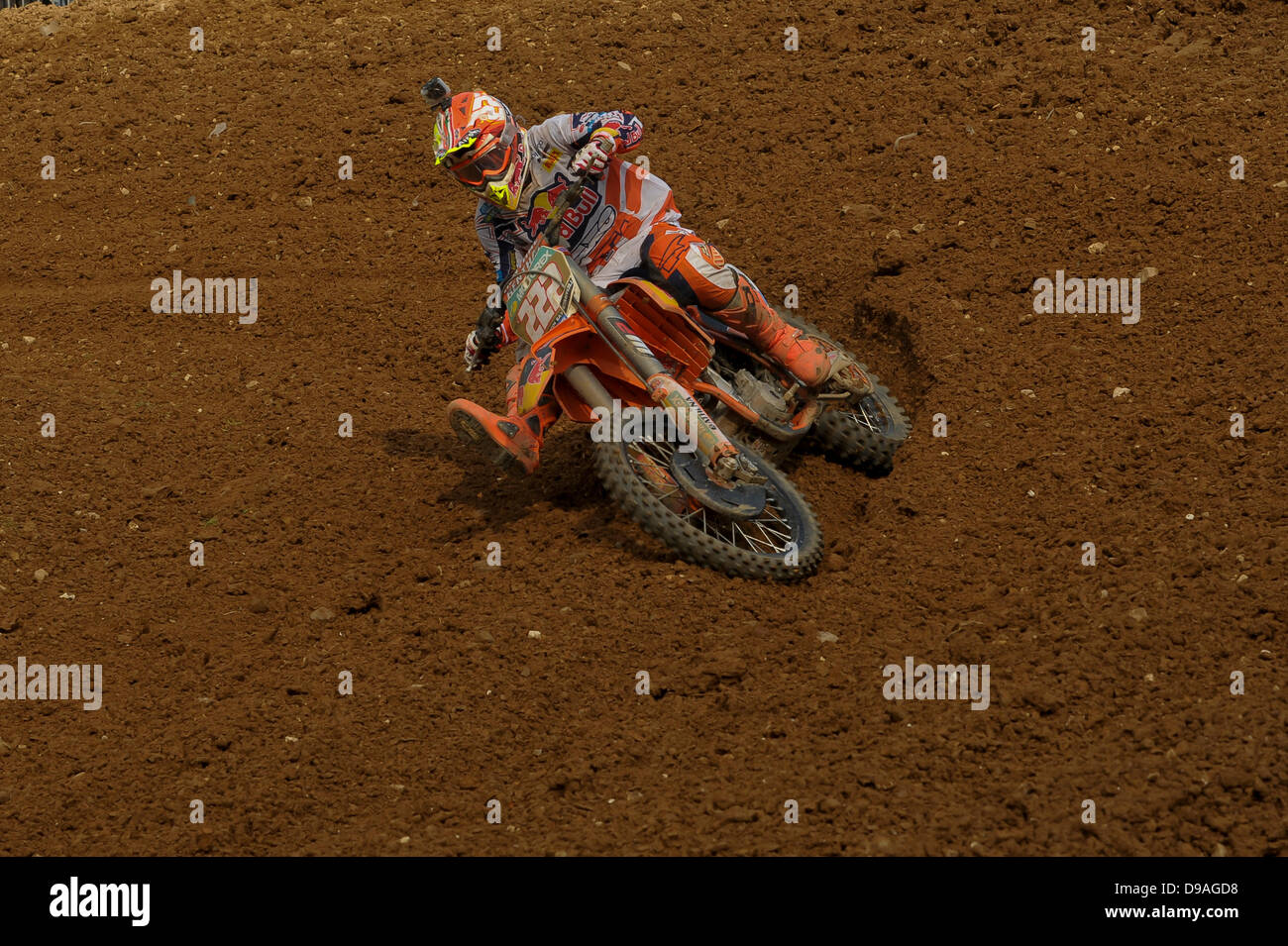 Maggiora, Italy.  during the MX1  World Motocross  Championships from Maggiora. Credit:  Gaetano Piazzolla/Alamy Live News Stock Photo