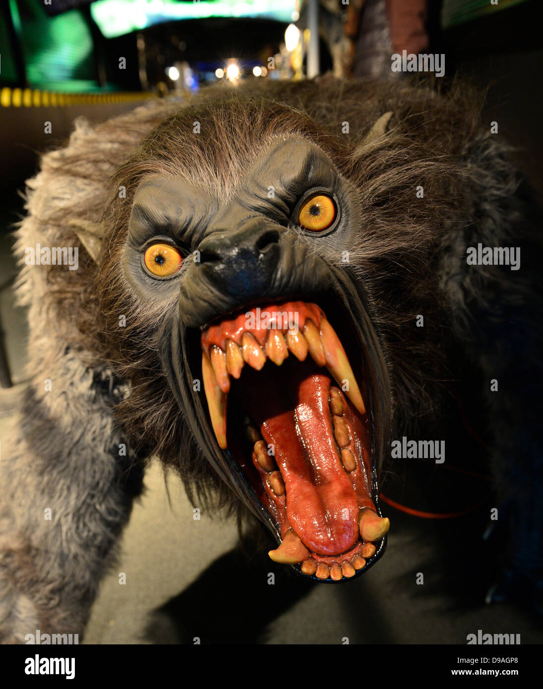 Garden City, New York. 15th June 2013. A snarling monster with large ...
