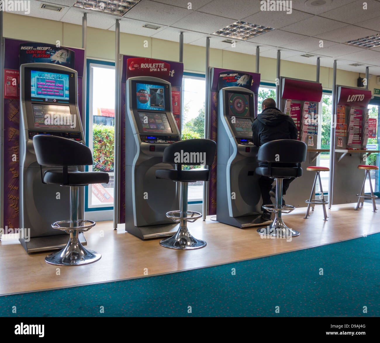 Are betting shop roulette machines fixed betting slip checkered