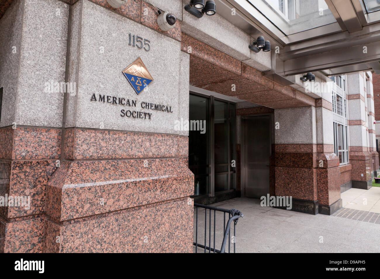 The American Chemical Society building  - Washington, DC USA - Stock Image
