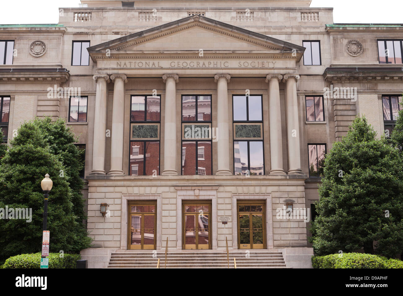 The National Geographic Society  Administration building, Washington DC USA - Stock Image