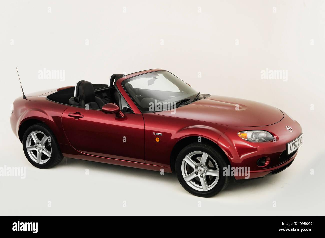 2007 Mazda MX5 Stock Photo