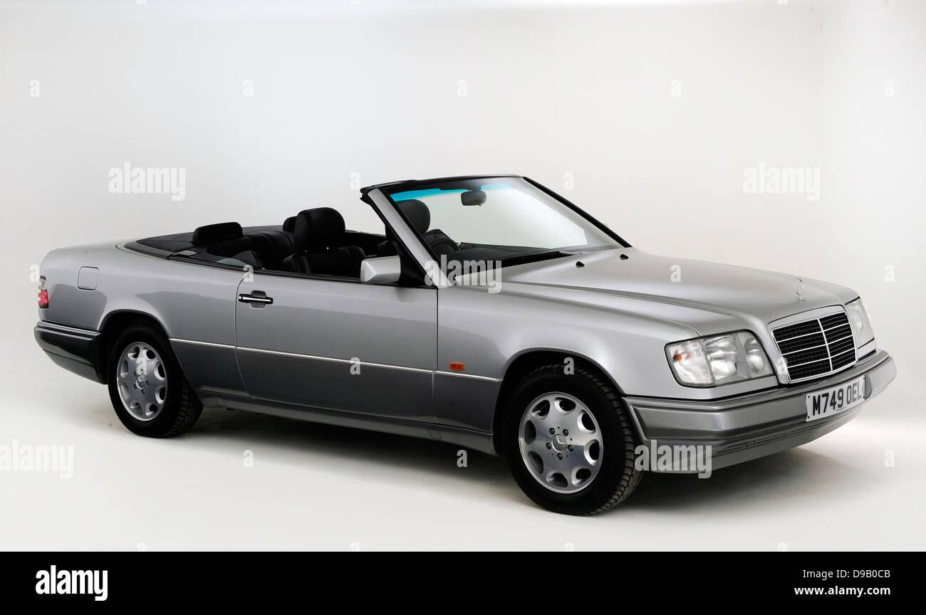 1995 Mercedes Benz E220 Convertible - Stock Image