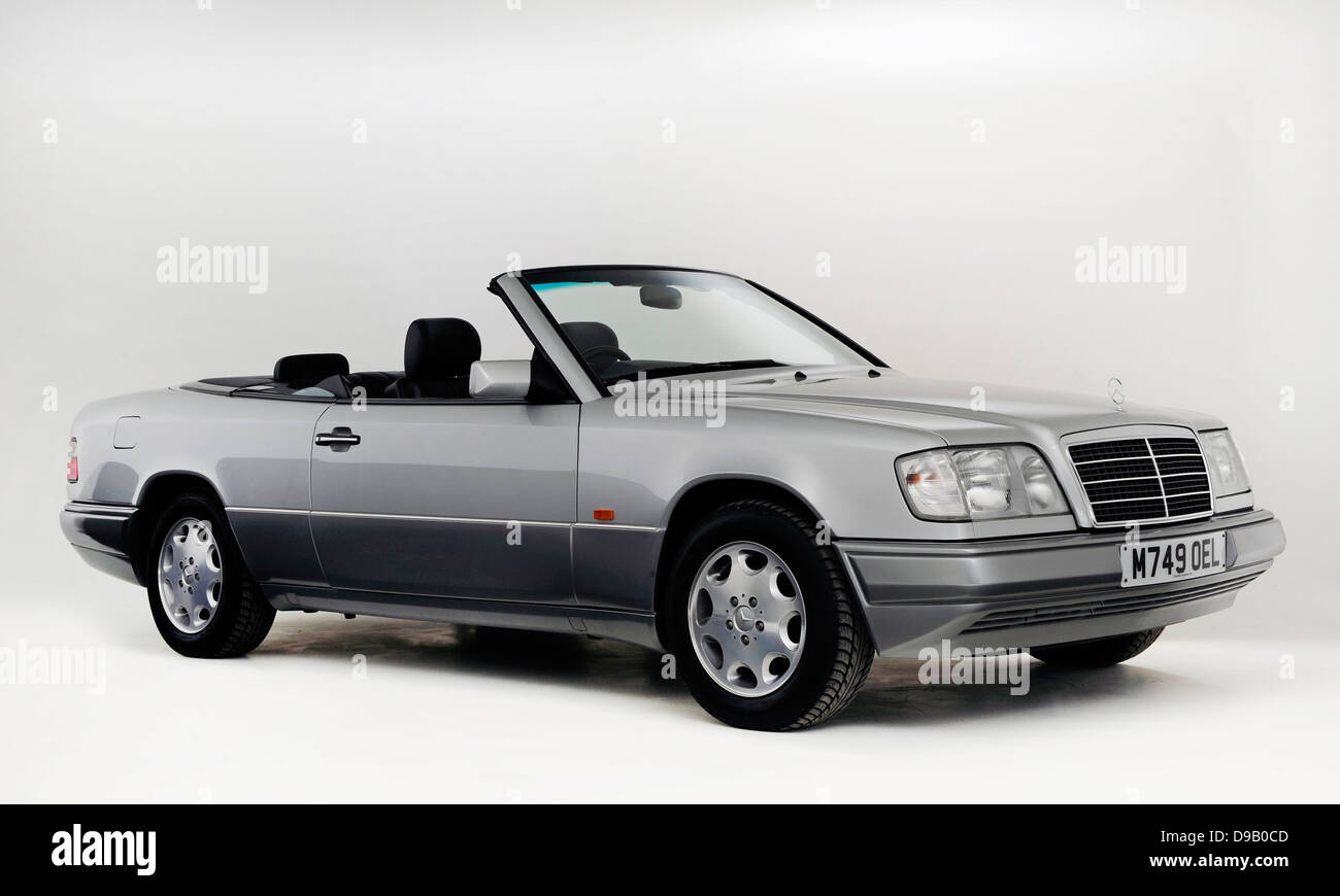 1995 Mercedes Benz E220 Convertible Stock Photo