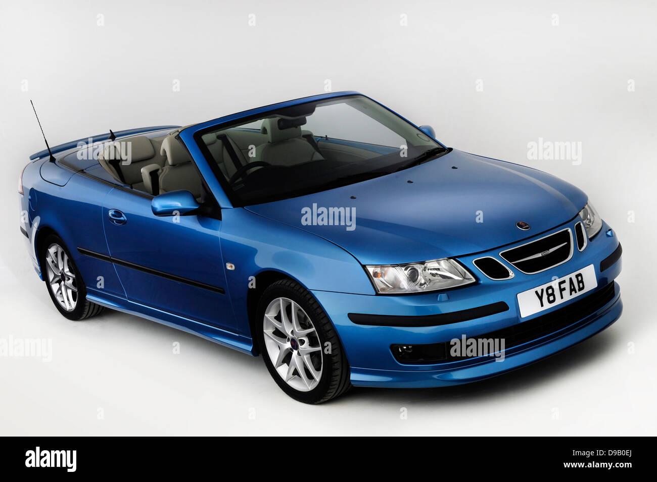 2007 Saab 9-3 Cabriolet - Stock Image