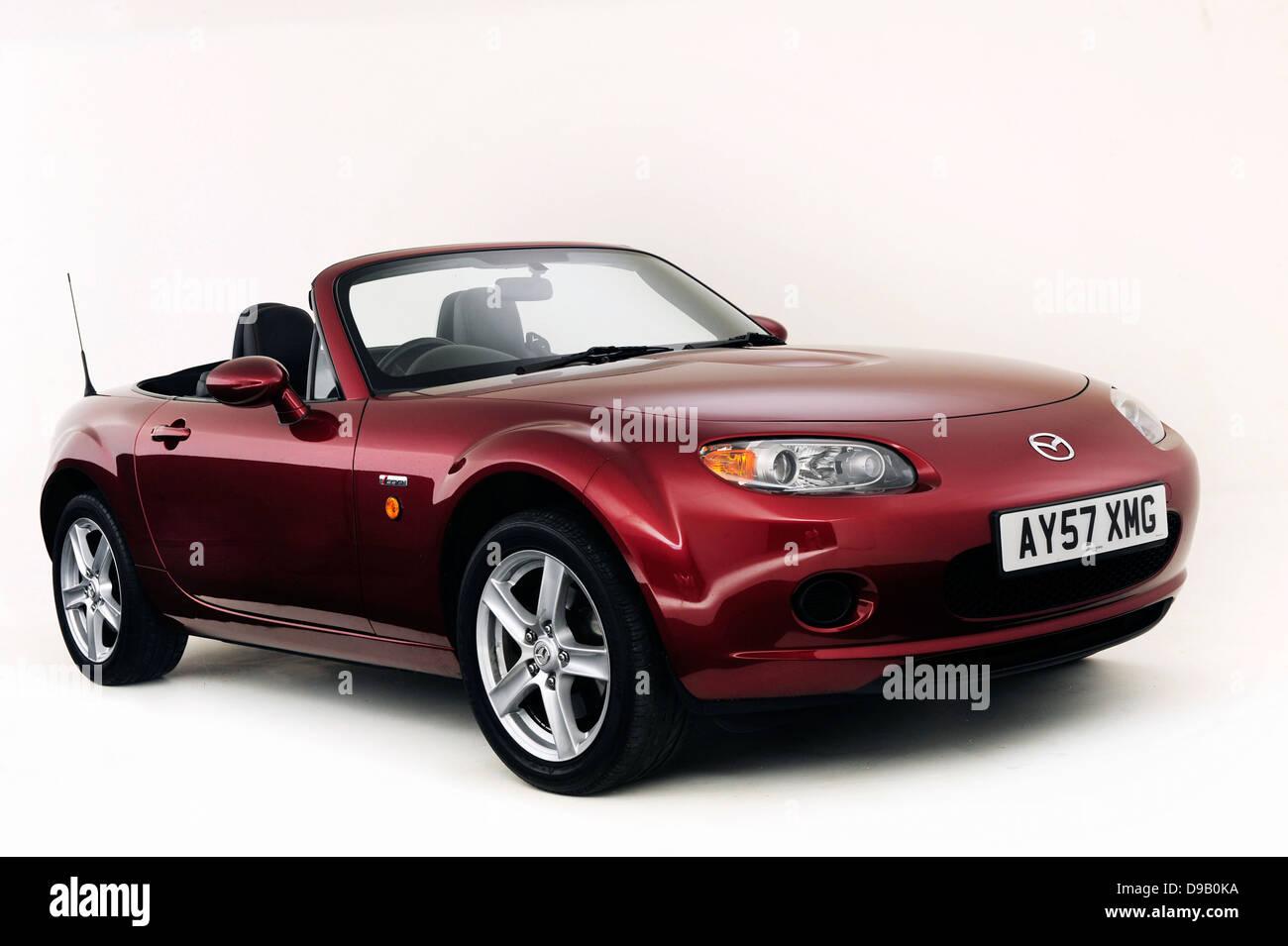 2007 Mazda MX5 - Stock Image
