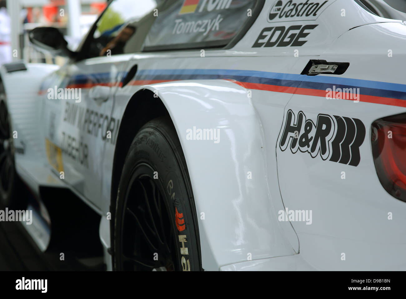Deutsche Tourenwagon Masters. DTM Touring Car series. Round 2. Brands Hatch Circuit, Kent, UK. June 18/19 2013 - Stock Image