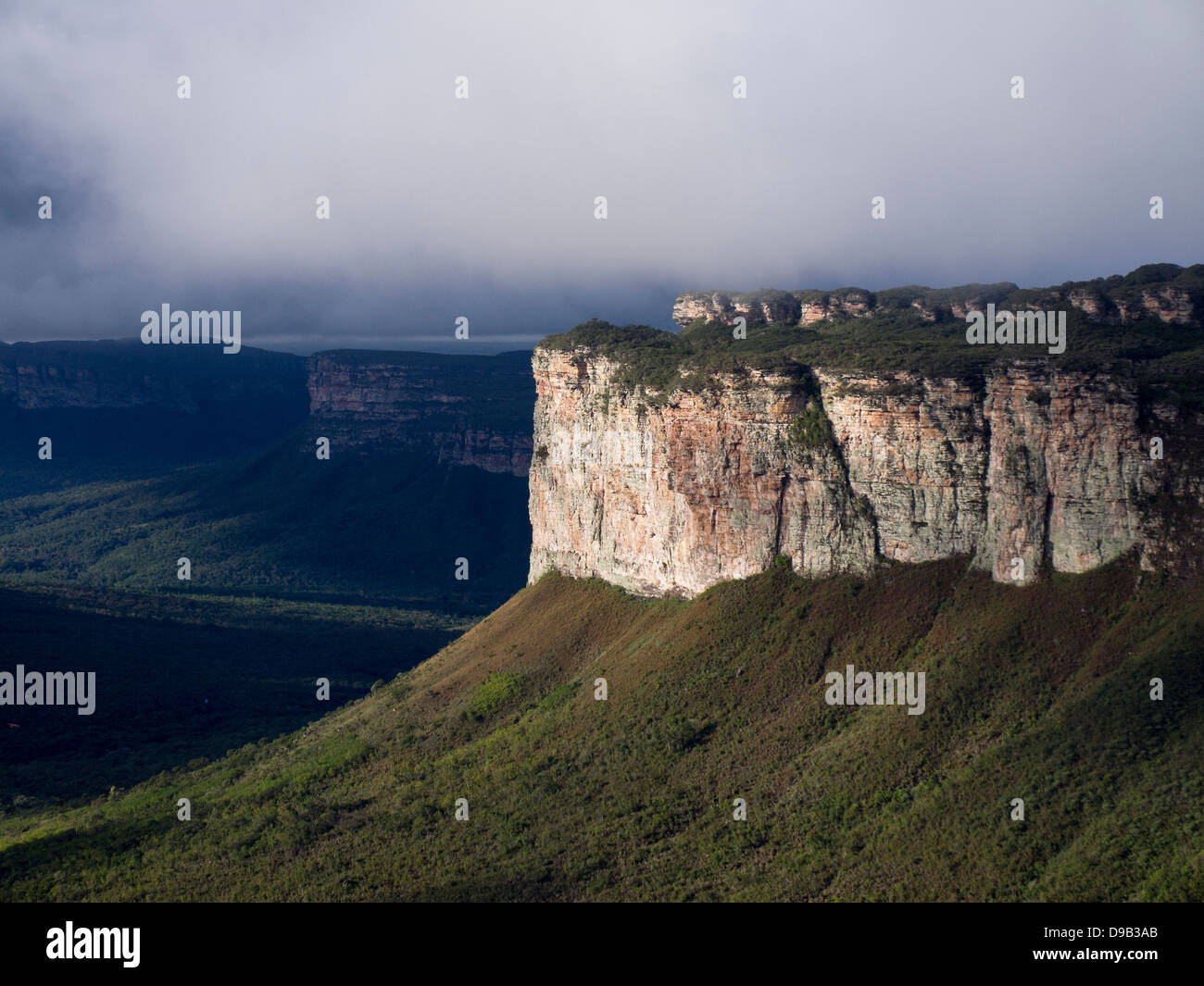 Chapada Diamantina National Park in Brazil. - Stock Image