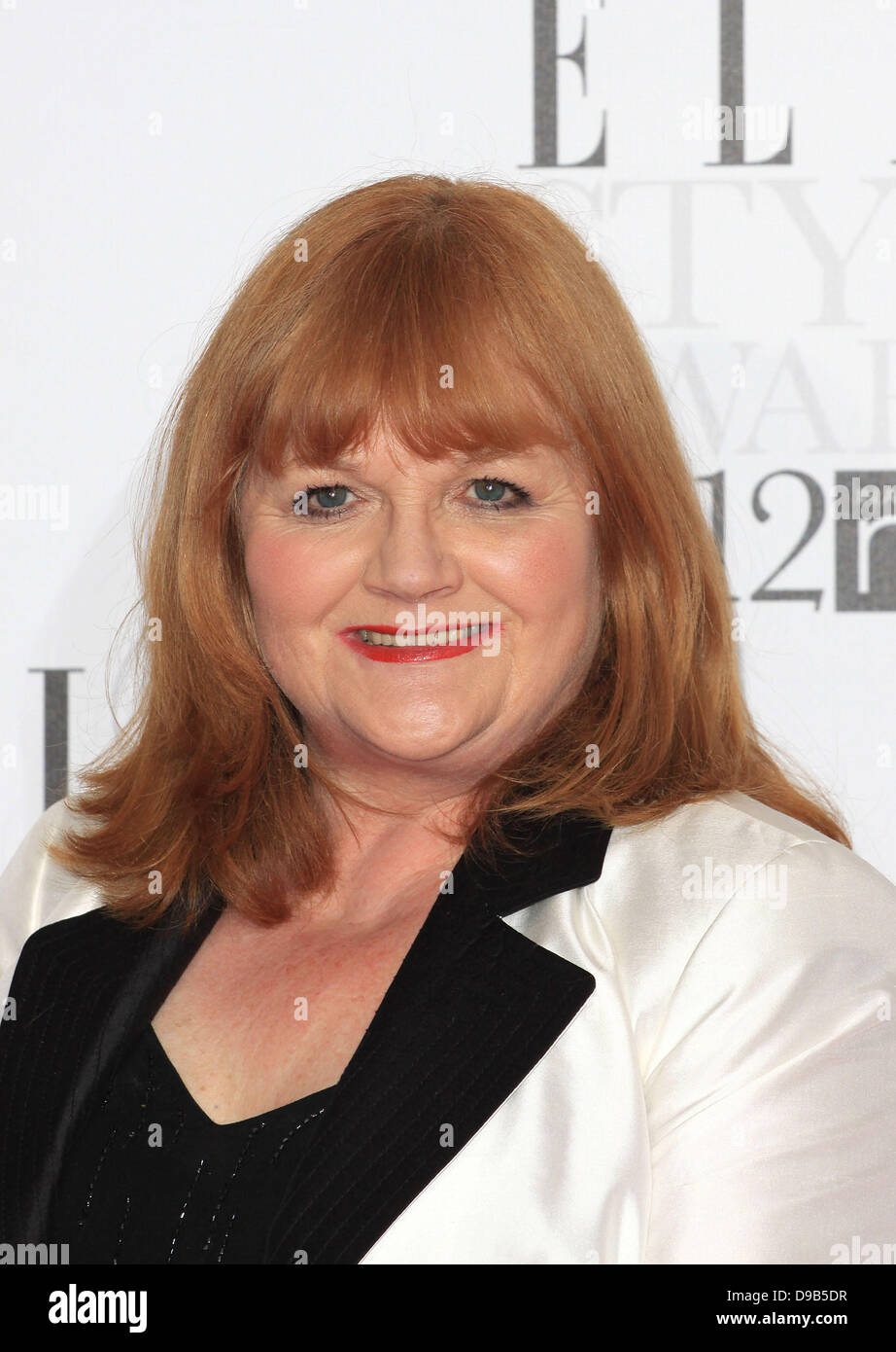 Lesley Nicol The Elle Style Awards 2012 held at The Savoy - Arrivals London, England - 13.02.12 - Stock Image