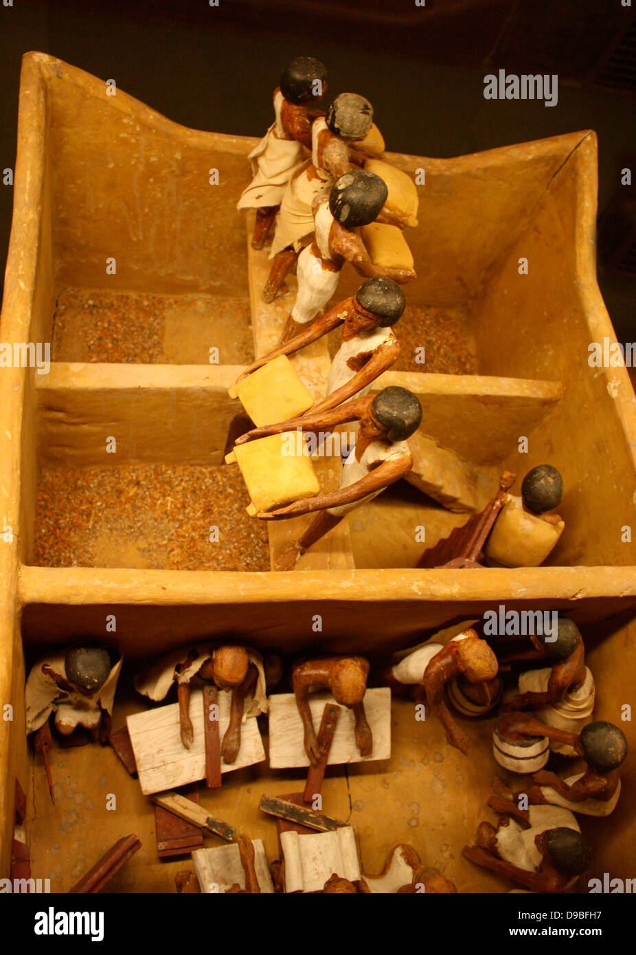 Granary, Dynasty 11, c. 2009-1998 BC. Stock Photo