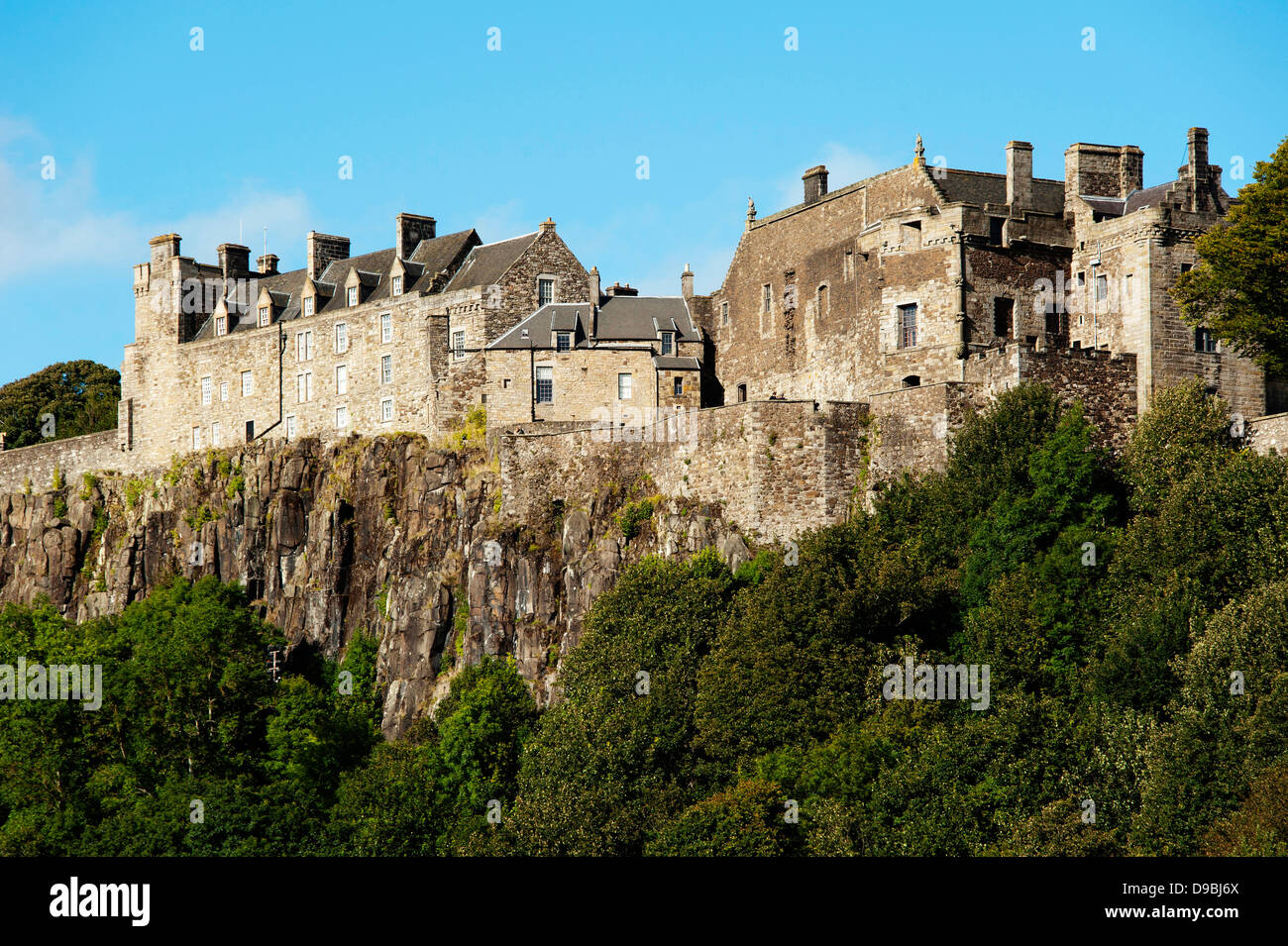 Stirling Castle, Stirling, Scotland, Great Britain, Europe , Schloss Stirling, Stirling, Schottland, Grossbritannien, Europa, St Stock Photo