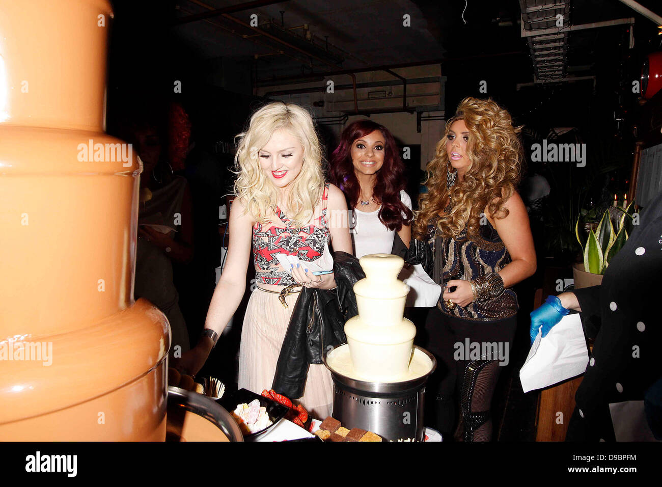 Perrie Edwards Jade Thirlwall Jesy Nelson Of Little Mix Stock