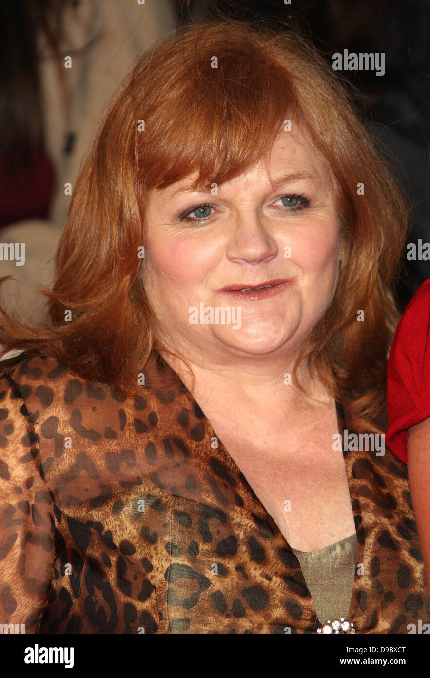 Lesley Nicol The National Television Awards 2012 (NTA's) - Arrivals London, England - 25.01.12 - Stock Image
