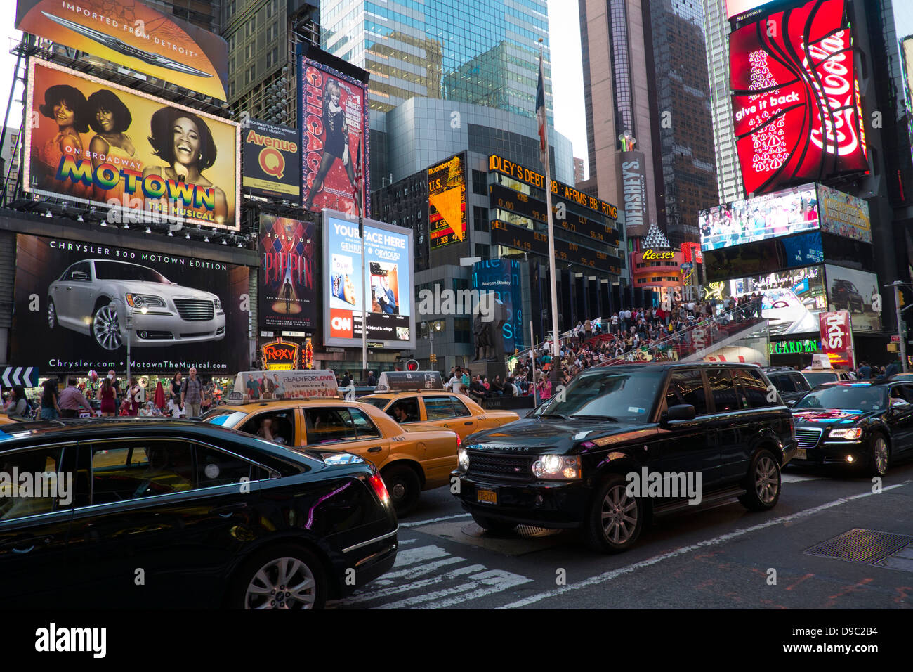 Times Square, Midtown, New York. - Stock Image
