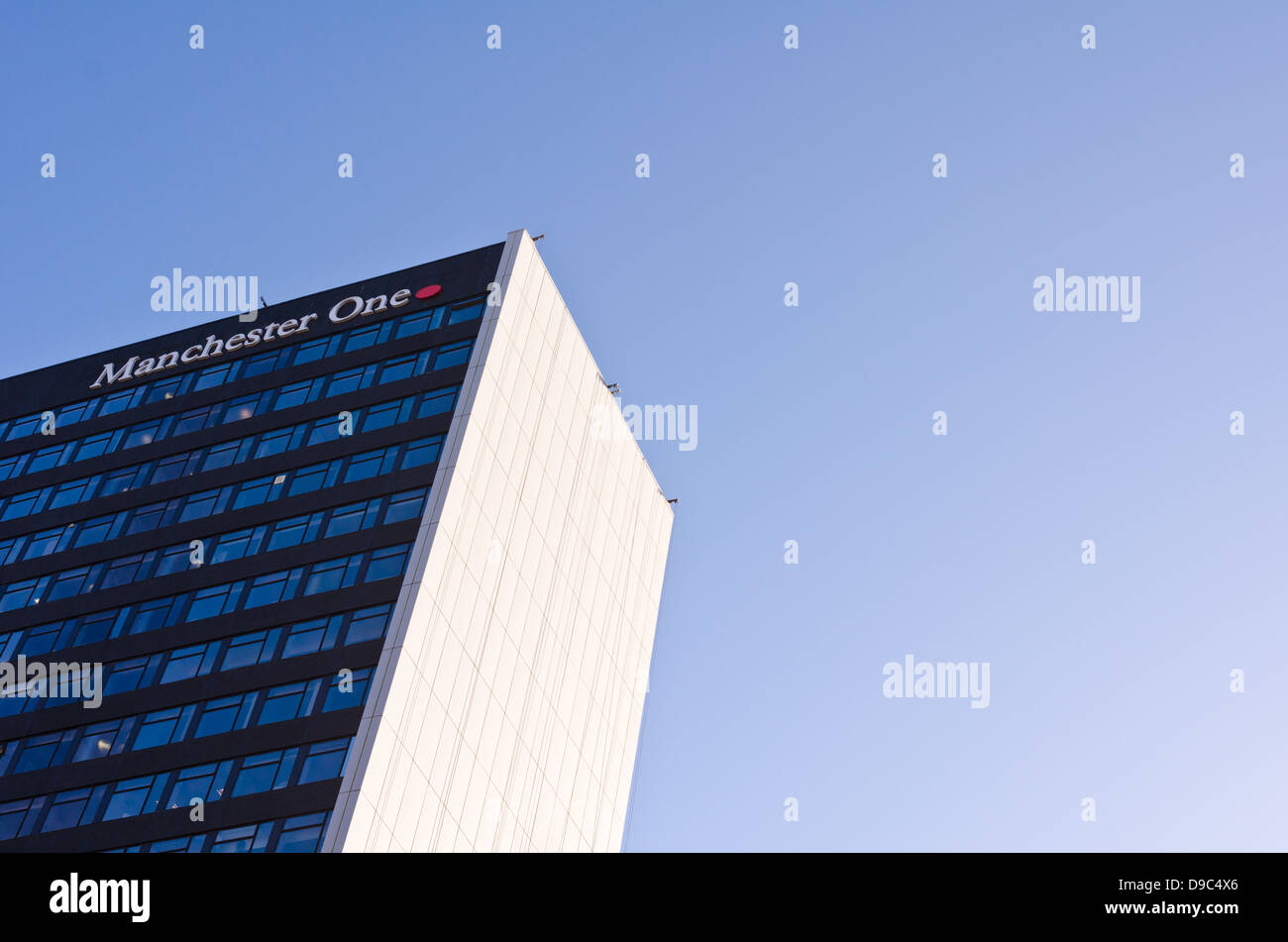 The Manchester One building on Portland Street in Manchester, UK - Stock Image